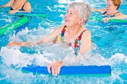 התעמלות מים לגיל השלישי