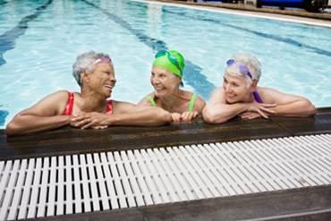 לימודי שחייה בגיל השלישי